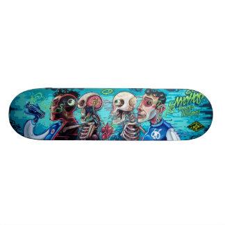 Infected & Injected - Sk8 Street Art Skate Deck