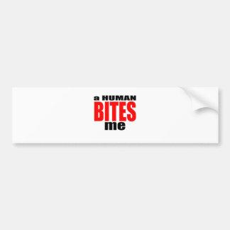 infection weird human bites become red tee mortal bumper sticker