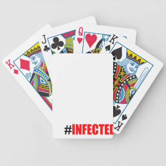 infection weird short hashtag become black tee mor bicycle playing cards