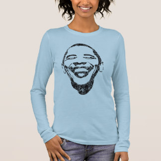 Infectious Smile Obama Long Sleave T Long Sleeve T-Shirt