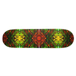 Inferno hell Skateboard Deck Psychedelic Art