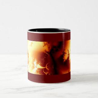 Inferno Two-Tone Coffee Mug