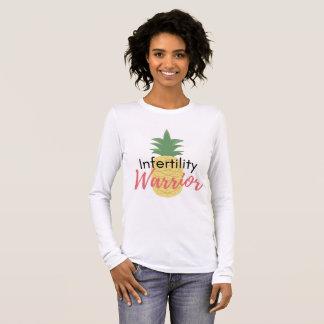 """Infertility Warrior"" Young Mrs. TTC Shop Long Sleeve T-Shirt"