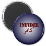 Infidel Fridge Magnet