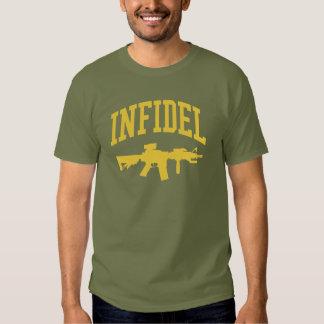 INFIDEL T SHIRTS