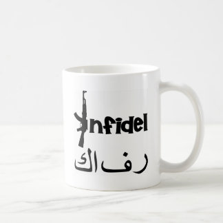Infidel w AK-47 Coffee Mug