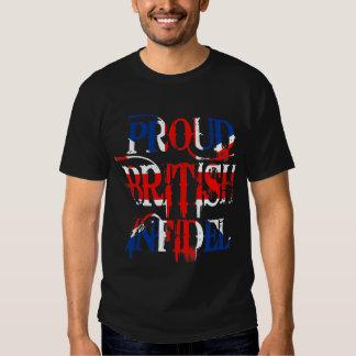 Infidèle britannique fier t-shirt