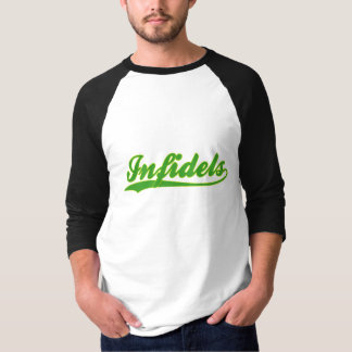 Infidels Faux Baseball Jersey T-Shirt