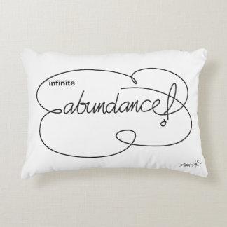 infinite ABUNDANCE - Bold CloudS Accent Pillow
