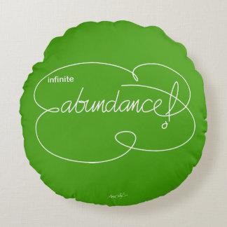 infinite ABUNDANCE - Bold CloudS - W Round Pillow