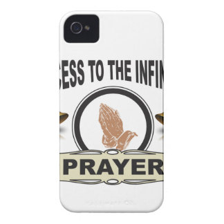 infinite access prayer Case-Mate iPhone 4 case