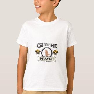infinite access prayer T-Shirt