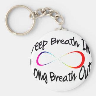 infinite breath keychain