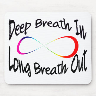 infinite breath mouse pad
