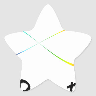 infinite breath star sticker