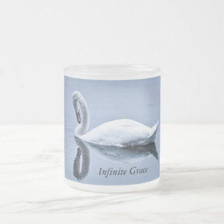 Infinite Grace Swan Frosted Cup