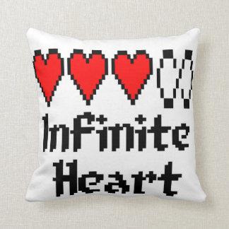Infinite Heart pillow