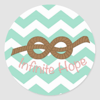 Infinite Hope Classic Round Sticker