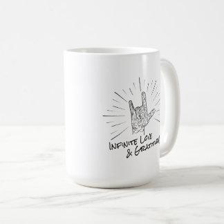 Infinite Love & Gratitude 15th Anniversary Mug