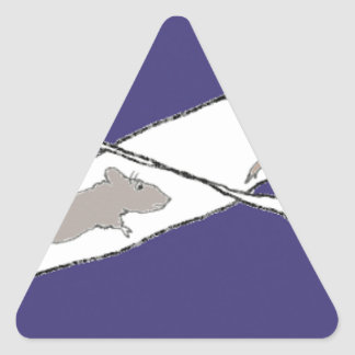 Infinite Rat Race Triangle Sticker