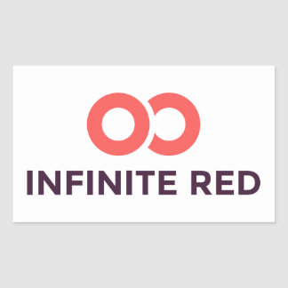 Infinite Red logo Sticker