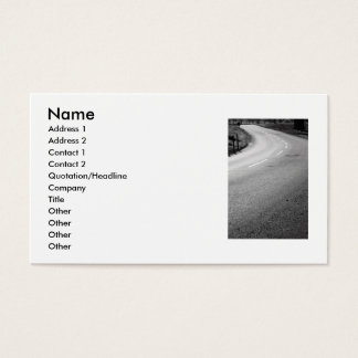 Infinite Road Business Card