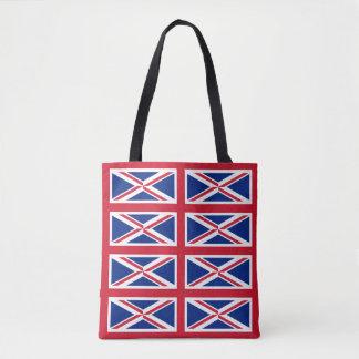 Infinite Union Jack Tote Bag
