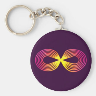 Infinitely indications sign eternity keychain
