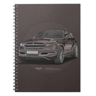 Infiniti FX 45 Artrace body-kit Notebooks