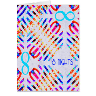 Infinity 8 Nights Chanukah Cards