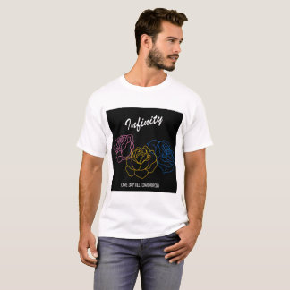 Infinity - Album cover white boys t-shirt