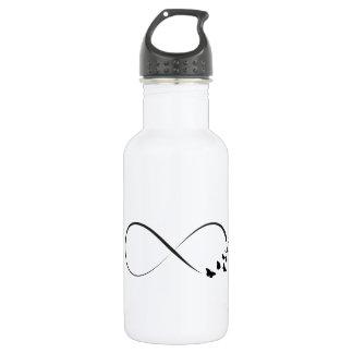 Infinity  butterfly symbol 532 ml water bottle