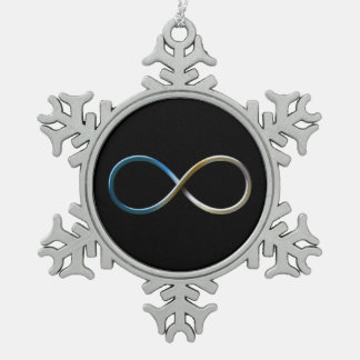 Infinity Christmas Ornament
