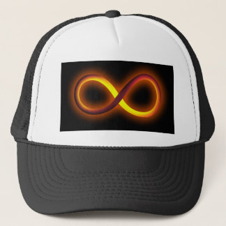 infinity design trucker hat