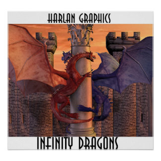 INFINITY DRAGONS POSTER