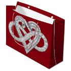 Infinity Heart Gift Bag