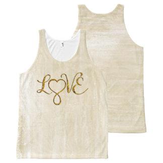 Infinity Heart Lemniscate - LOVE gold