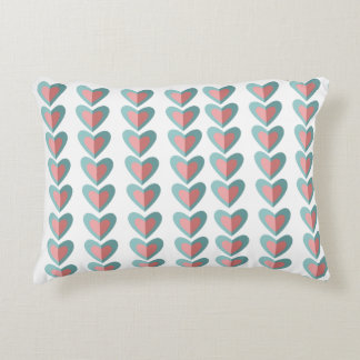Infinity Hearts pattern Pillow