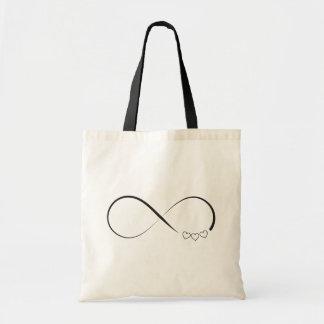 Infinity hearts symbol