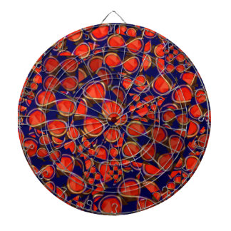 infinity iNFINITE Red Scrap MATHS COSMOS SCIENCE Dartboard With Darts