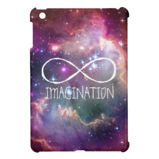 Infinity loop and galaxy space hipster background iPad mini cases
