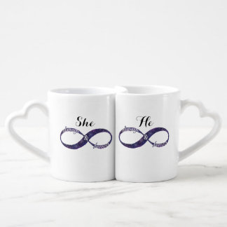 Infinity Love Coffee Mug Set
