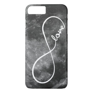 Infinity Love on the Moon iPhone 7 Plus Case