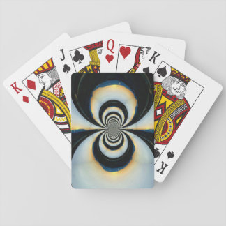 Infinity Mountain Sunset Playing Cards