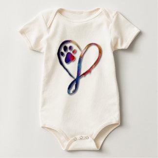 Infinity Paw Baby Bodysuit