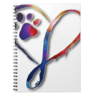 Infinity Paw Notebook