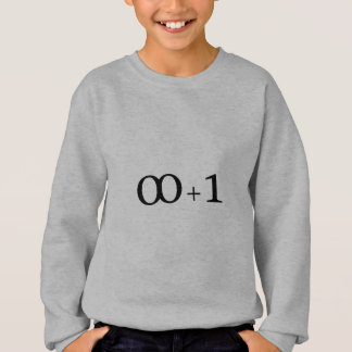infinity plus one sweatshirt