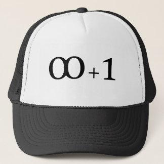 infinity plus one trucker hat