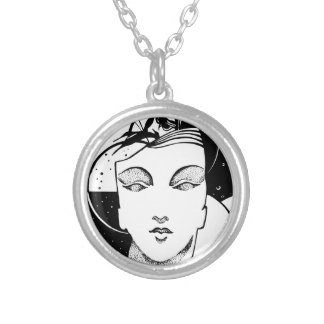 Infinity Silver Plated Necklace