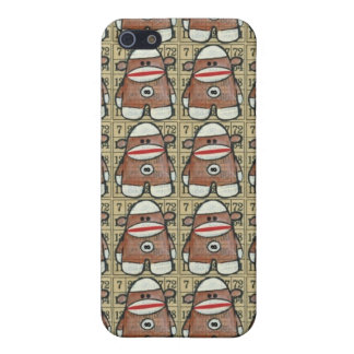 Infinity Sock Monkey iPhone Case Covers For iPhone 5